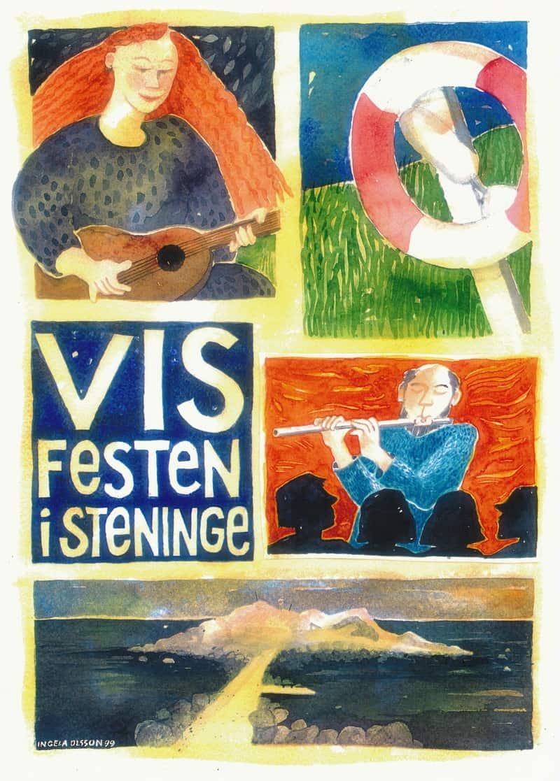 Affisch Visklubben Skeppet